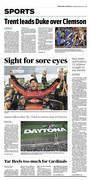 Jacksonville NC Feb 18 sports cover