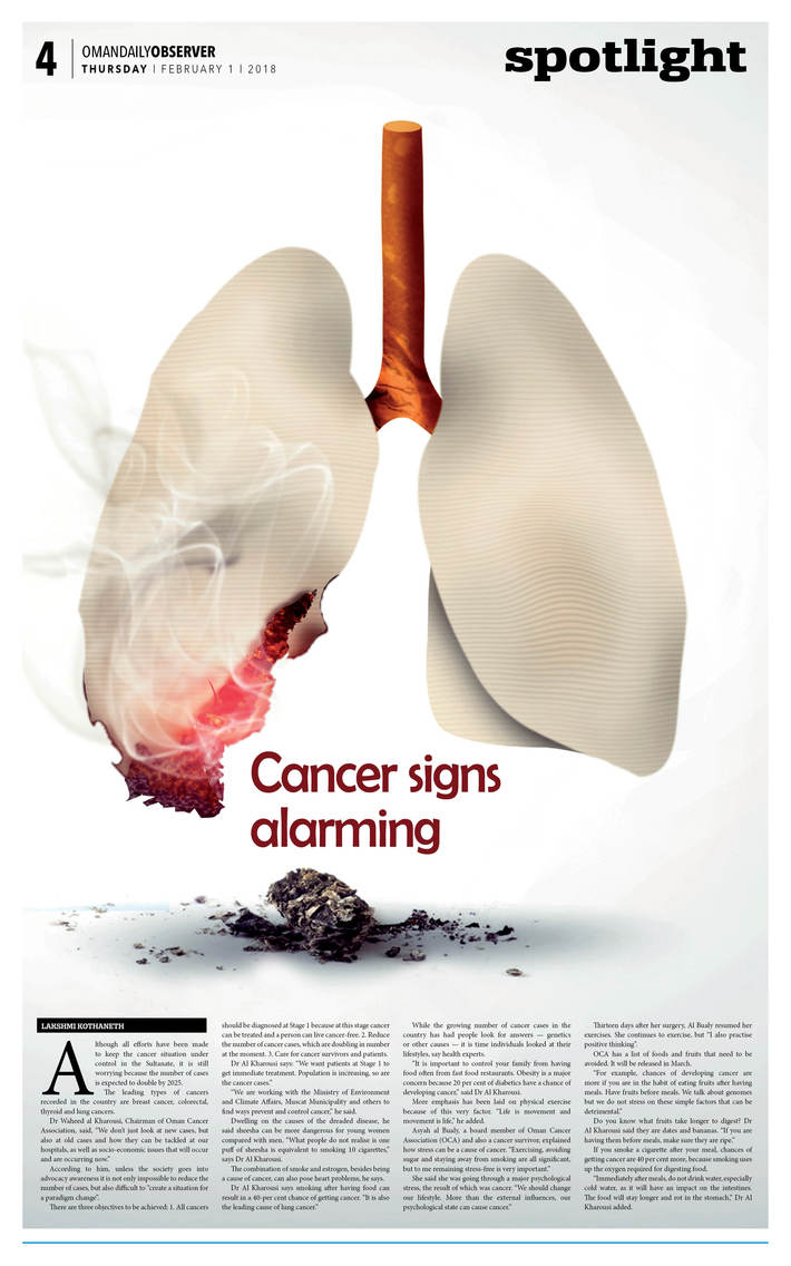 cancer signs alarming