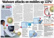 Malware attack on Mobiles