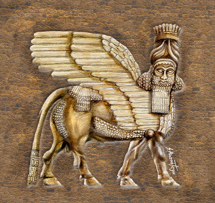 Asirian Bull