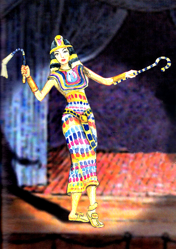 Cleopatra In The Theater