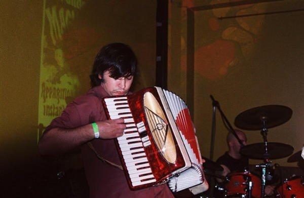 Nov 2005 CD release at the temple club