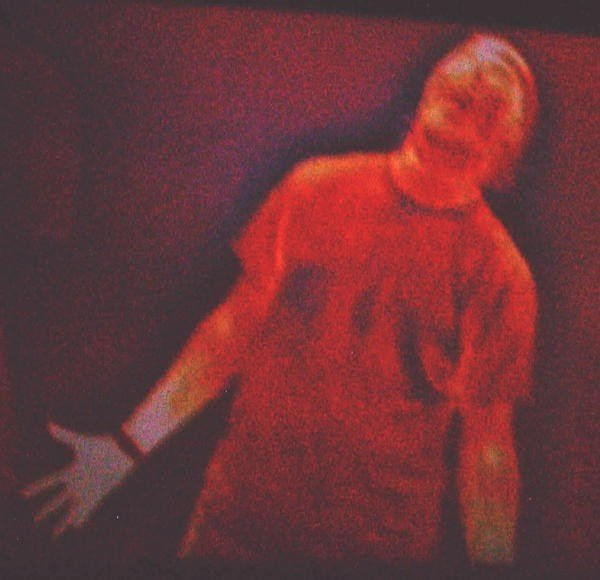 A thermal image of me