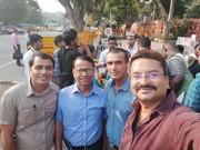 A Selfie: Dr. Saurabh Shukla, Prof. Rajani Kanta Barman, Dr. Badan Barman