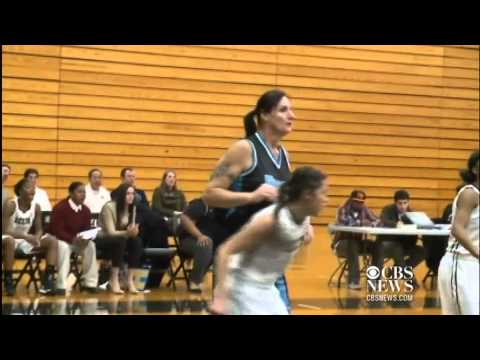 Transgender 51-year-old joins women's college basketball team (2013)