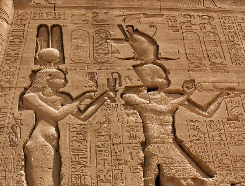 Cleopatra Dendera Hathor
