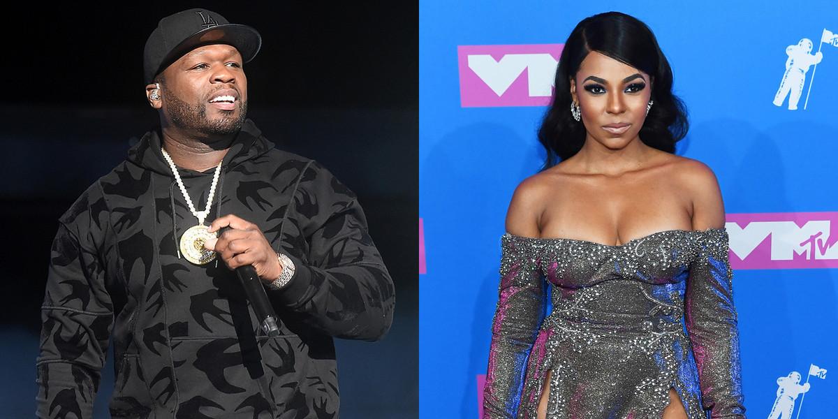 50 Cent Throws Some Serious Shade At Singer Ashanti