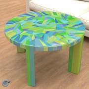 Gilbert tesselation low table