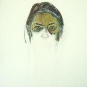 fragment (70x70, acryl op doek)
