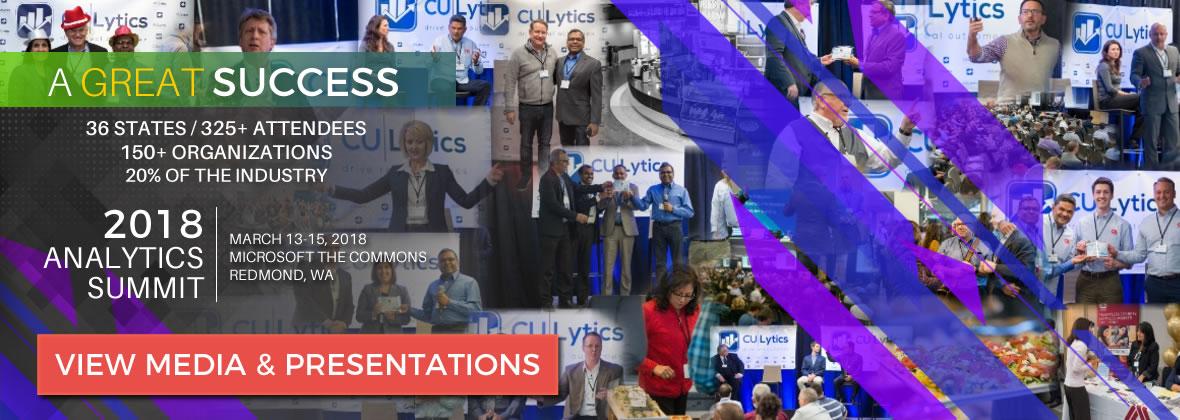 2018 Credit Union Analytics Summit