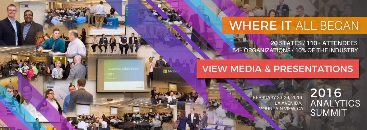 2016 Credit Union Analytics Summit