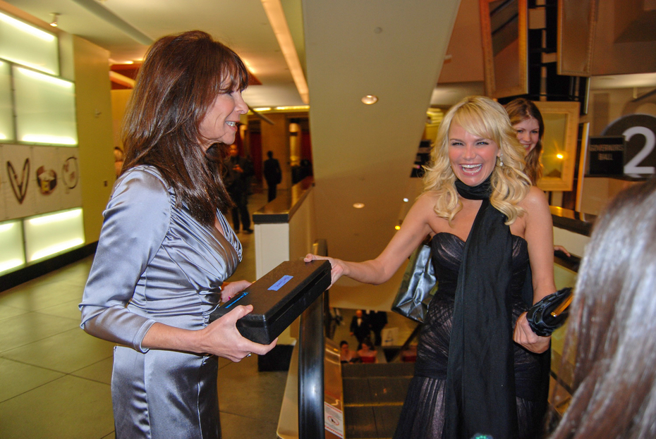 Randy and Kristen Chenoweth