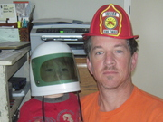 astronaut and fireman