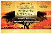 The International Black Summit will be held in Baltimore MD a