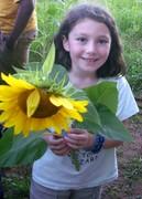 Miasol y un mirasol (sunflower)