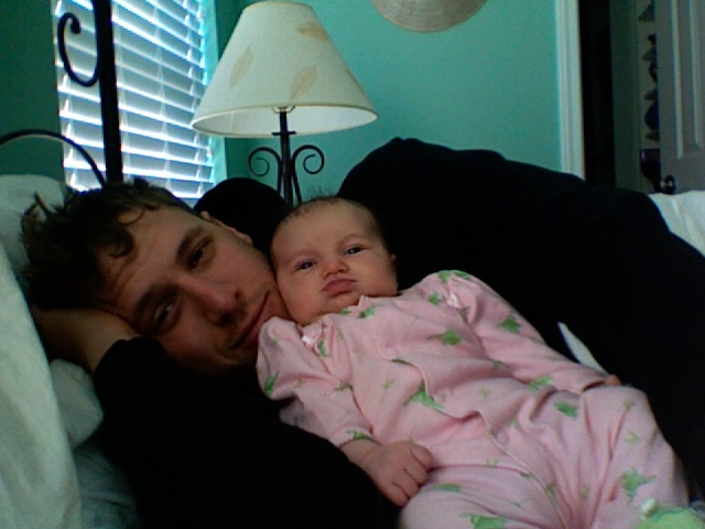 Lucy and Daddy