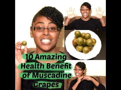 10 Amazing Benefits of Muscadine Grapes