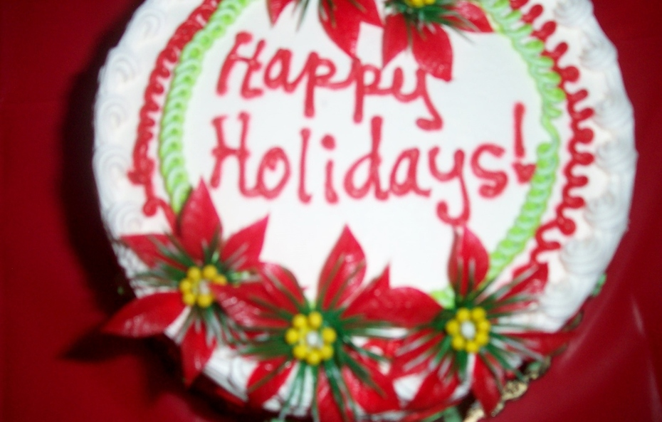 The Holiday Cake