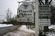 Powell House Sign