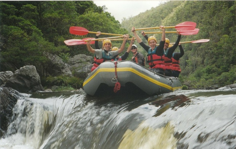 rafting the nymboida river NSW