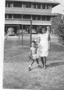 Dominga and I in Panama 1947