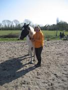 Imelda de Smet Kessels and her horse Lobke