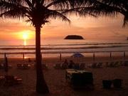 Phuket, Thailand sunset.