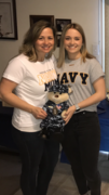My Sailor and Me @ her send off party!