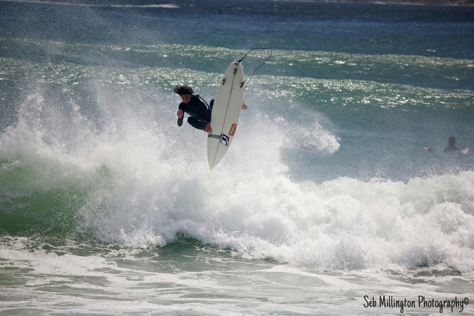 Josh Fairley shredding hard at Longbeach