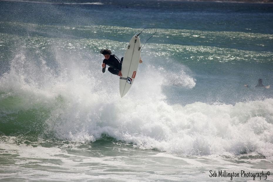 Josh Fairley shredding hard at Longbeach