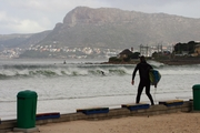 Small Wintery Surfers Corner