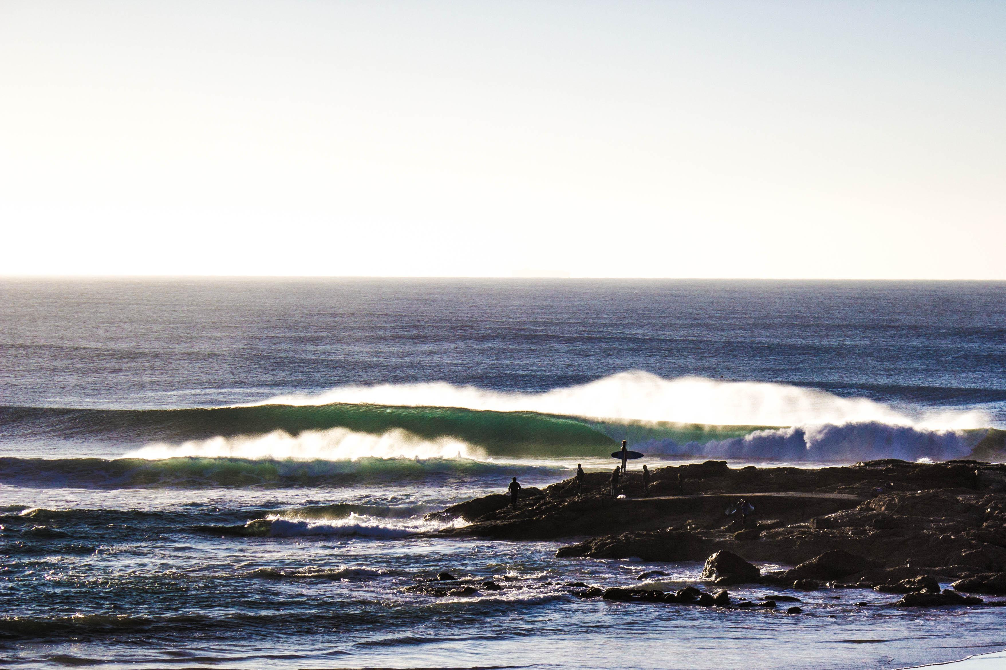South Coast Point break