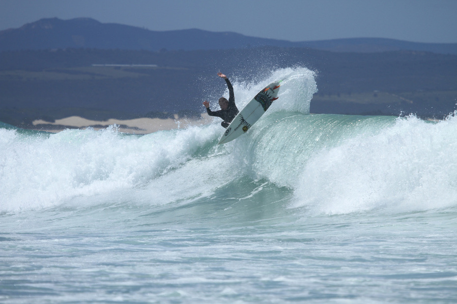 Beautiful day in JBay after the stormy weekend