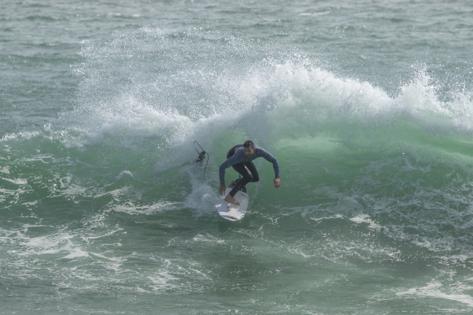 Surfing Big Bay