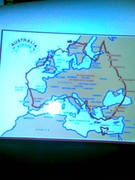 a scale map of australia to lwt you see how small we are