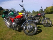 New and old Triumphs....