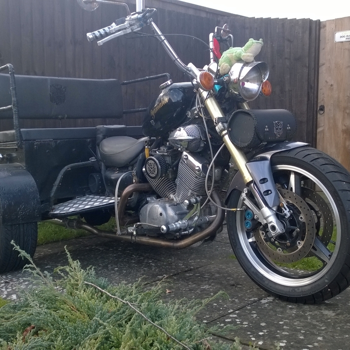 For sale xv535 trike built in 2002 by creation customs
