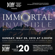 Immortal Invisible: The Music of Pepper Choplin and Mary McDonald