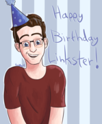 Happy Birthday Link!! (Without Beard)