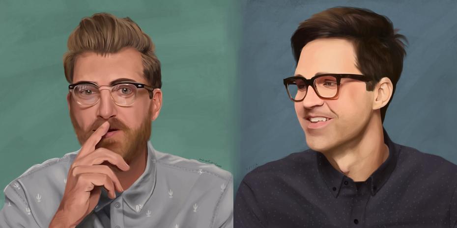 Rhett and Link sketchies