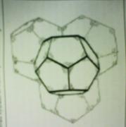 Water Calthrate Molecule