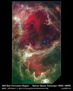 W5 Star Formation Region_ssc2008-15a