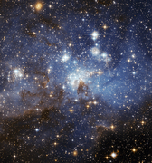 Magellanic Cloud LH 95
