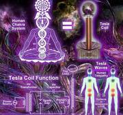 chakra system and tesla coil