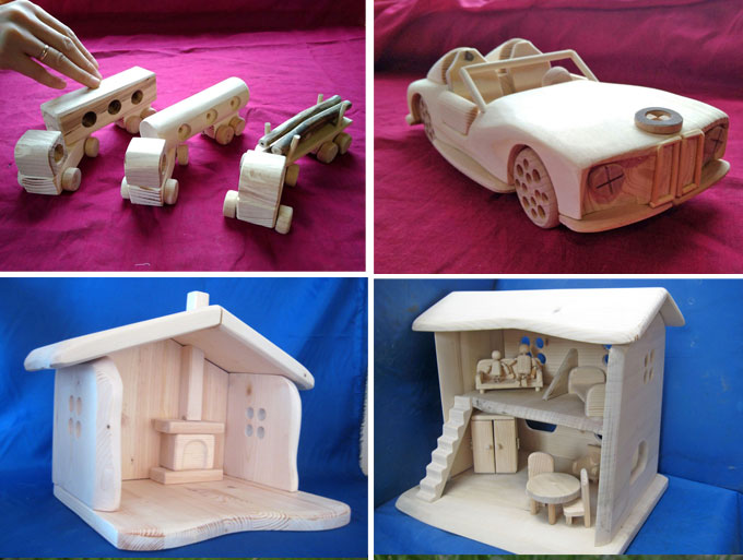 Ethical wooden toys