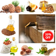 Organic oils as Christmas gifts