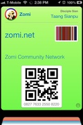 Zomi Community Member card for passbook