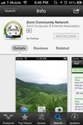 Zomi iPhone app free download