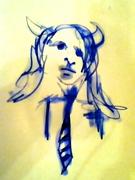 Girl Minotaur