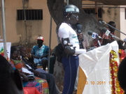 A NATIONAL SPEECH DELIVERY DAY IN ACCRA, GHANA [a National Mental Health Activist]  .